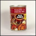 ALL GOLD TOMATO AND ONION MIX 12X410G
