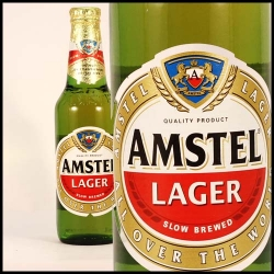 AMSTEL  LAGER BOTTLES 24X340ML